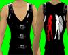 [AR] Black Bikers Vest