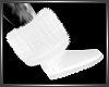 SL White Fur Boots
