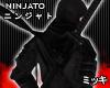 ! Dark Ninja Katana Back