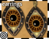 *m SteamPnk Eye Earrings
