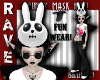 SKULLY BUNNY MASK HAT!