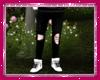 Ripped Black Pants
