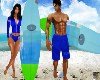 M/F Surfboard /Poses