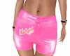 bad girl shorts pink