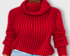 Winter Sweater-Red