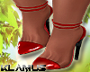 K! Diva Red Shoes