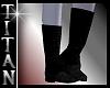 TT*Black Suede Boots