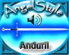 Aragorn's Sword Anduril