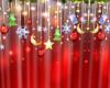 christmas curtians