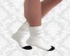 Socks White/Black - F v1
