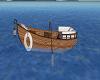 Island cuddle boat
