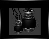 [N]Two Vases Black/Grey