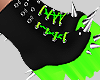 Neon Goth Spiked Boots