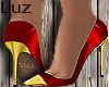 Luz - Shoe Scarpan Red
