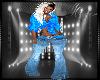 Blue Belted Jeans