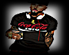 COCA COLA BLACK SHIRT