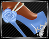 Pastel Chic Heels Blue