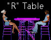 """""""R"""" Club Table for 4"""