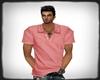 LC| Pink Polo Shirt