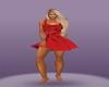 purpel dress