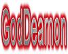 GodDeamon collar (red)