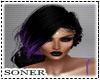 SNR*Black Purple Hair