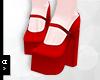 Ⓐ Red Heels