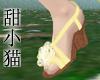 TXM Yellow Wedge Sandals