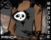[Grey] Panda Tank Top
