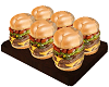 Burger tray food tray cc