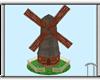 Animated Dutch Windmill