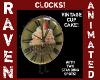 VINTAGE CUPCAKE CLOCK!