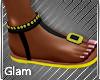 Flower Beach Sandals