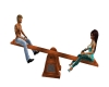 S&S INC. Wooden Seesaw