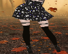 gothic skull skirt RL