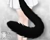 Y' Black Neko Tail