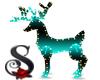 Animated Lights BG Deer
