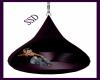 Purple Teardrop swing