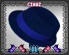 C! Blue Fedora