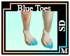 SD Blue Toes M