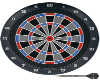 animated dart board