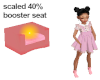 candy pink kid seat