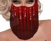 Dia Veil Red