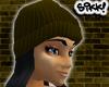 602 Brown Skully Bk Hair