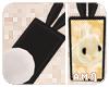 A.M.| BunnyPhone -Black
