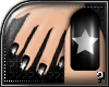 m.. Black Star Nails
