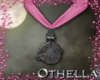 Witch Pendant - Pink