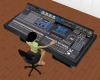 Sound Engineer Mix Board