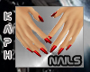 Small Hands - Red nails