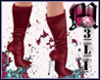 Boots Red Wine
